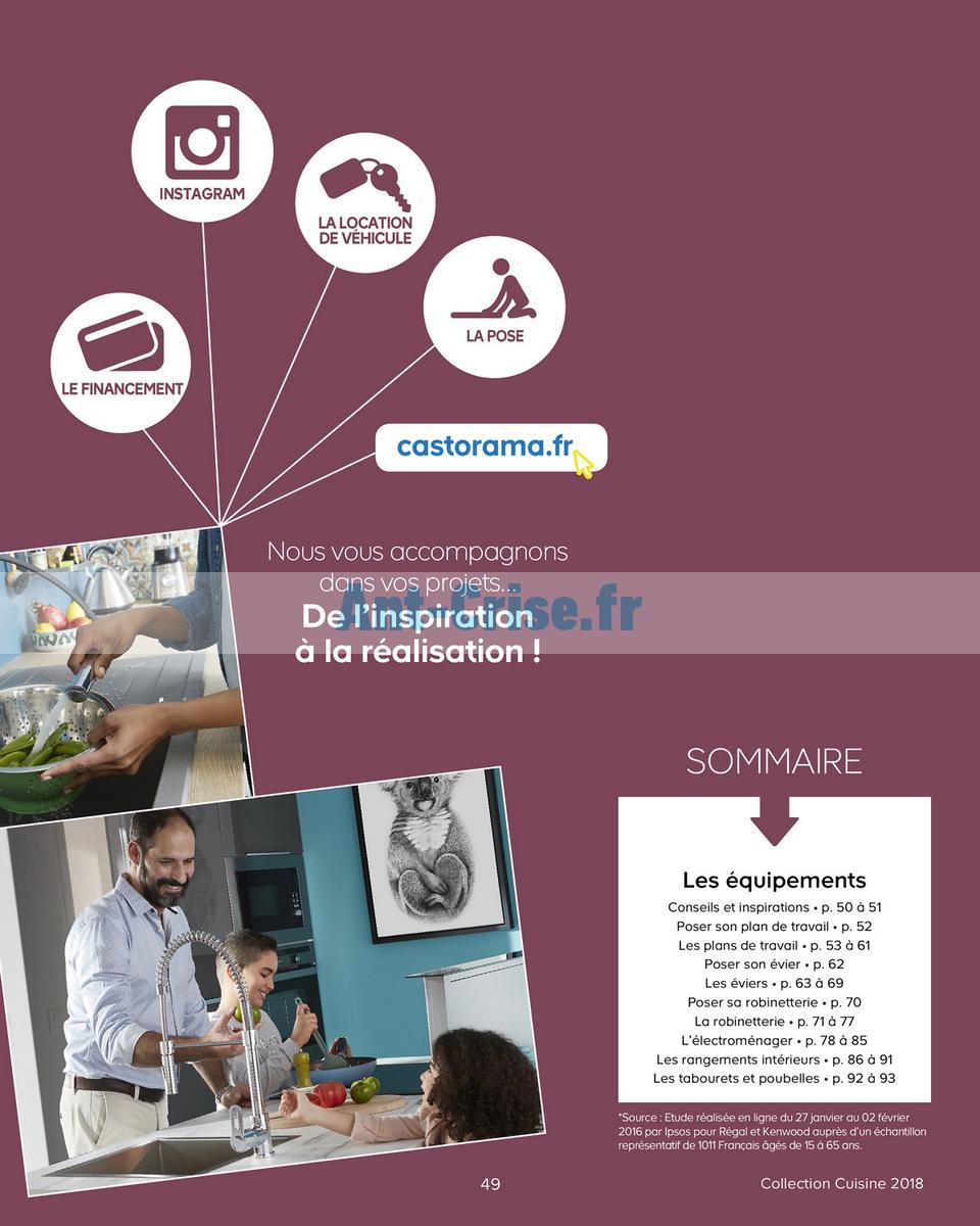 decembre2018 Catalogue Castorama du 15 mai au 31 décembre 2018 (Cuisine) (49)