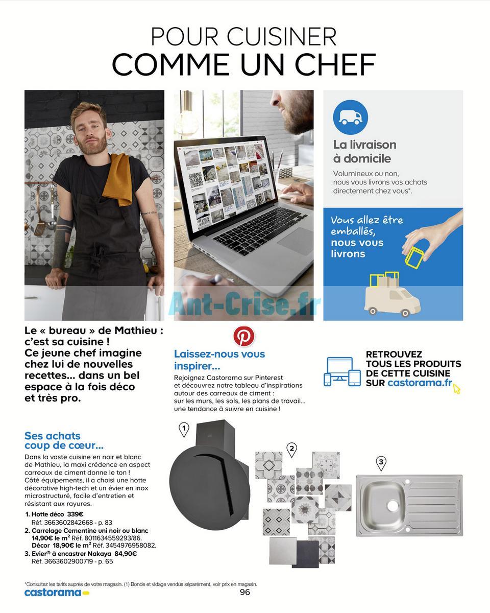 decembre2018 Catalogue Castorama du 15 mai au 31 décembre 2018 (Cuisine) (96)