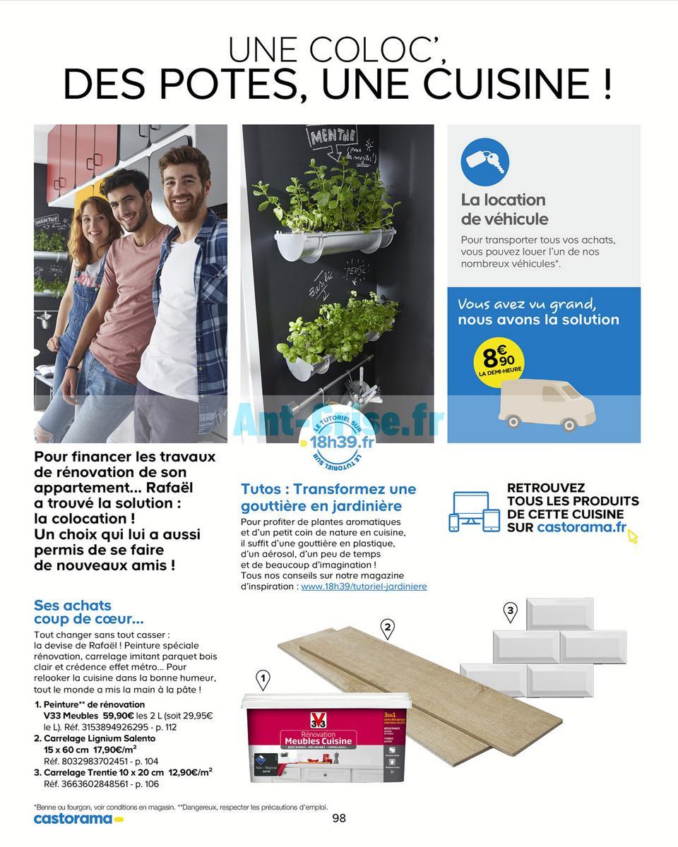 decembre2018 Catalogue Castorama du 15 mai au 31 décembre 2018 (Cuisine) (98)