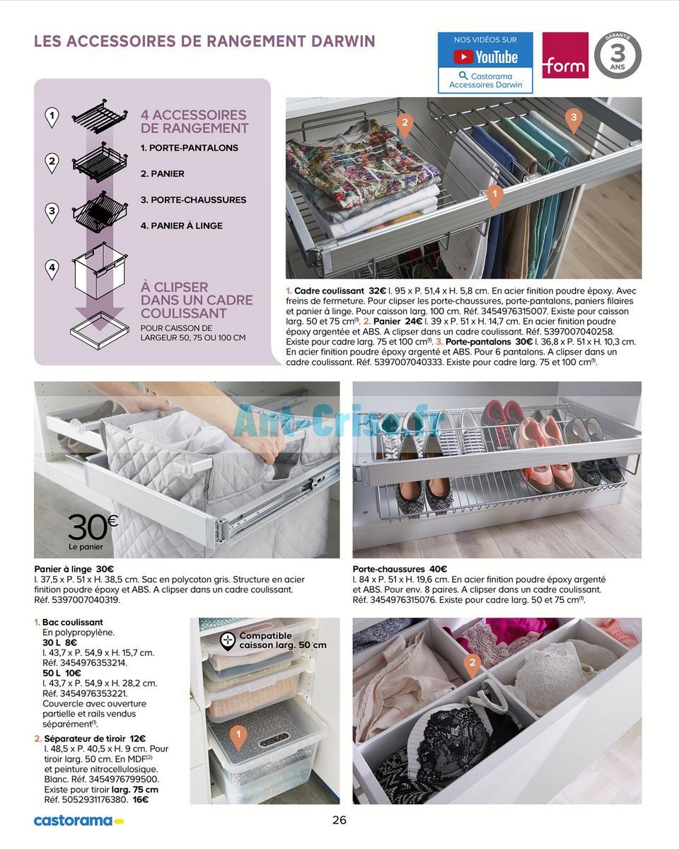 Catalogue Castorama Du 15 Mai Au 31 Decembre 2018 Rangements