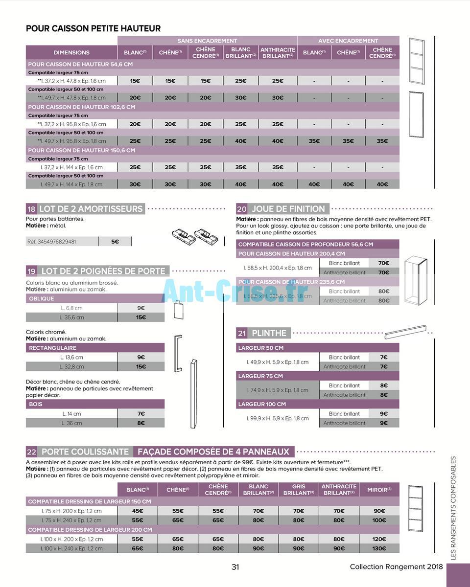 decembre2018 Catalogue Castorama du 15 mai au 31 décembre 2018 (Rangements) (31)