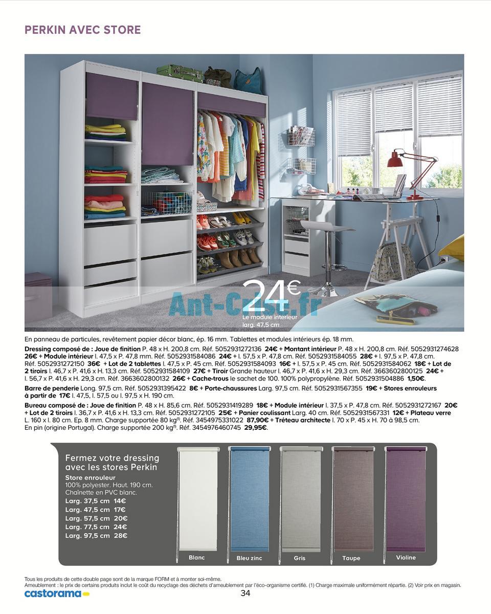 decembre2018 Catalogue Castorama du 15 mai au 31 décembre 2018 (Rangements) (34)