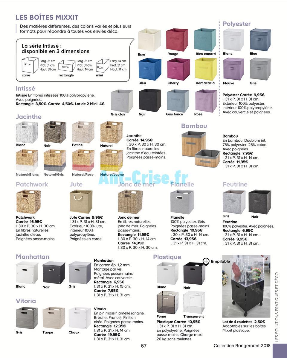 decembre2018 Catalogue Castorama du 15 mai au 31 décembre 2018 (Rangements) (67)