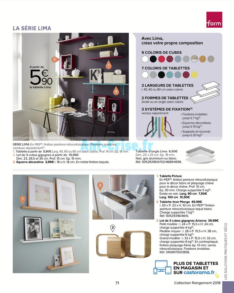 decembre2018 Catalogue Castorama du 15 mai au 31 décembre 2018 (Rangements) (71)