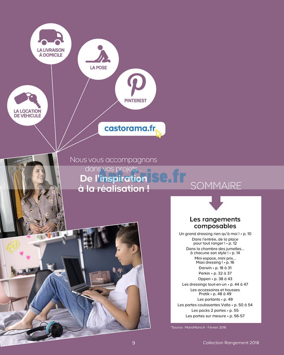 decembre2018 Catalogue Castorama du 15 mai au 31 décembre 2018 (Rangements) (9)