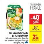 Bon Plan Plat Cuisiné Végétal Côté Fleury Michon chez Carrefour (22/05 - 28/05) - anti-crise.fr