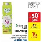 Bon Plan Boisson Végétale Flora chez Carrefour (22/05 - 28/05) - anti-crise.fr