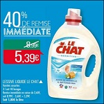 Bon Plan Lessive Lechat Sensitive chez Match (15/05 - 27/05) - anti-crise.fr