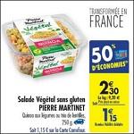 Bon Plan Salade Végétale Pierre Martinet chez Carrefour (22/05 - 28/05) - anti-crise.fr