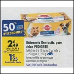 Bon Plan Sticks Dentastix de Pedigree chez Carrefour (08/05 - 14/05) - anti-crise.fr