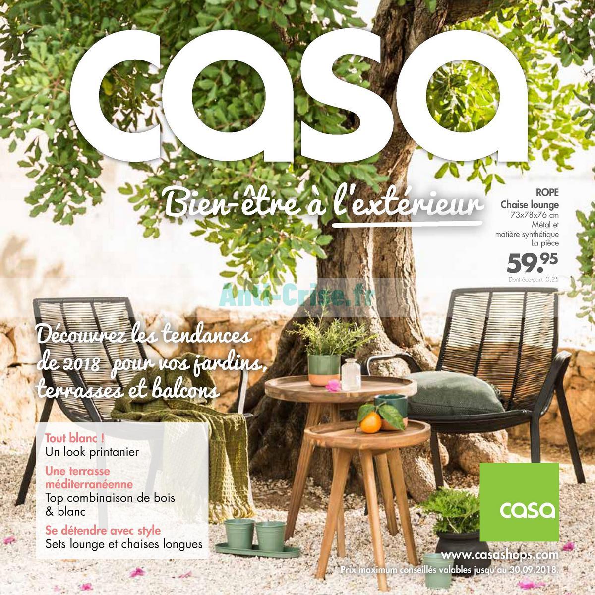 septembre2018 Catalogue Casa du 21 mai au 30 septembre 2018 (1)