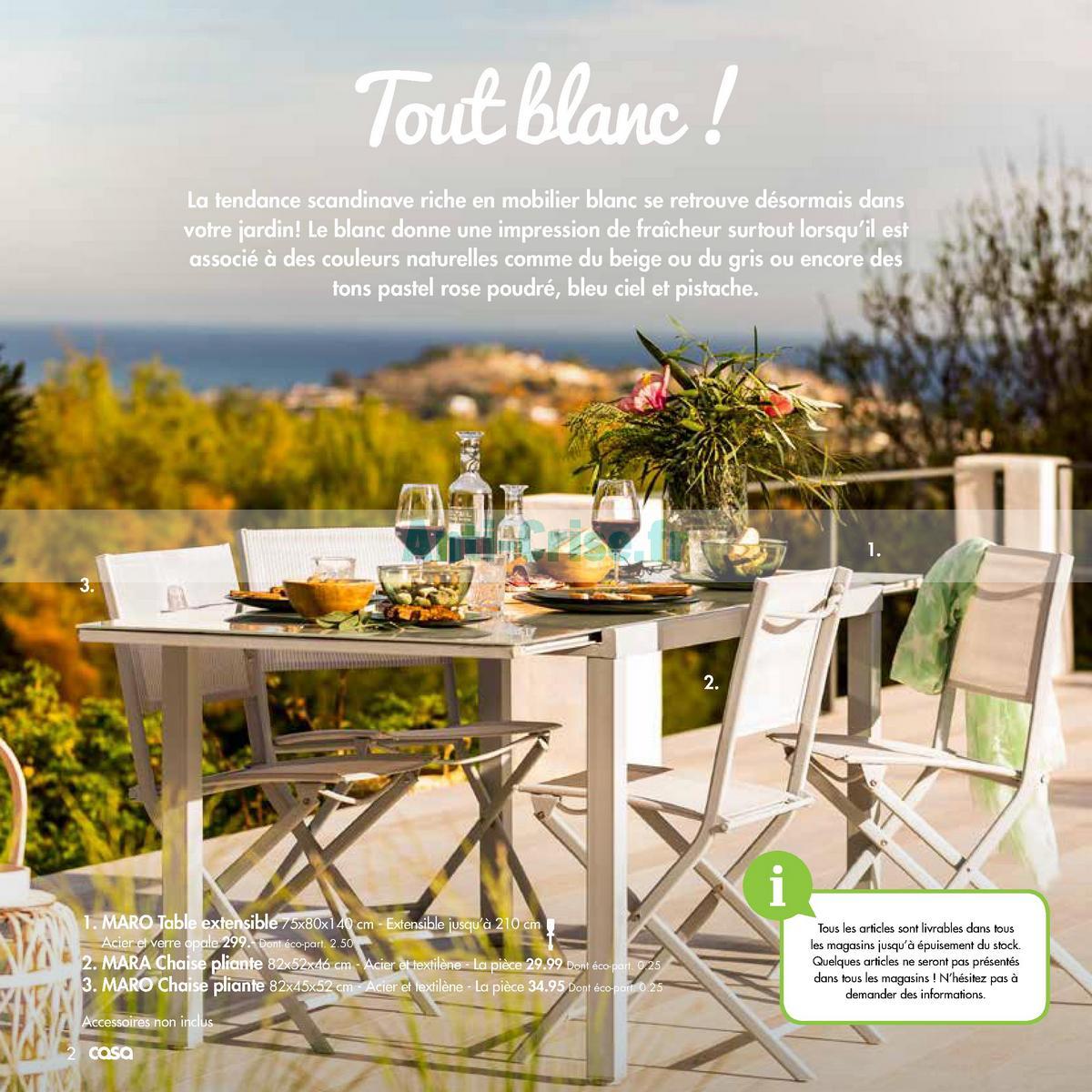 septembre2018 Catalogue Casa du 21 mai au 30 septembre 2018 (2)