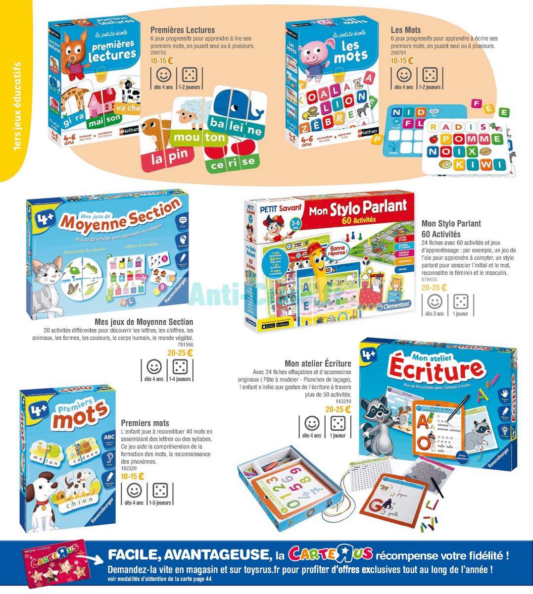 septembre2018 Catalogue Toys R Us du 7 avril au 23 septembre 2018 (Jeux de Société) (10)
