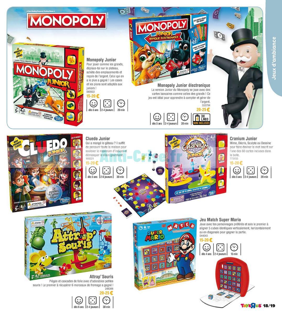 septembre2018 Catalogue Toys R Us du 7 avril au 23 septembre 2018 (Jeux de Société) (19)