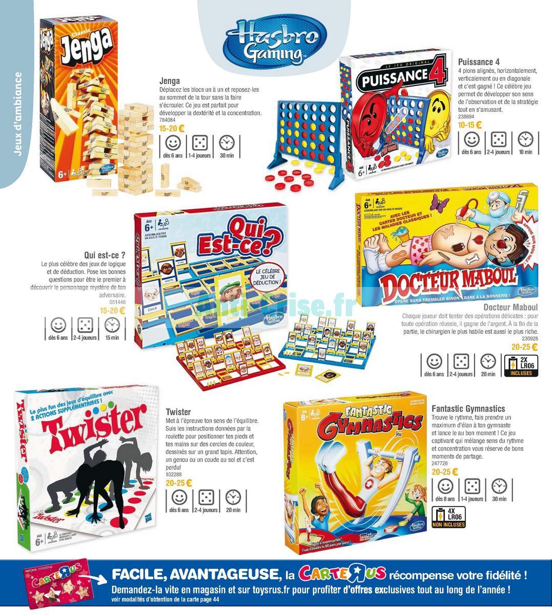 septembre2018 Catalogue Toys R Us du 7 avril au 23 septembre 2018 (Jeux de Société) (20)