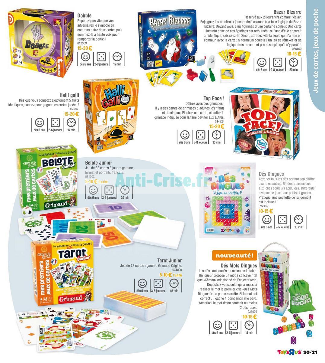 septembre2018 Catalogue Toys R Us du 7 avril au 23 septembre 2018 (Jeux de Société) (21)
