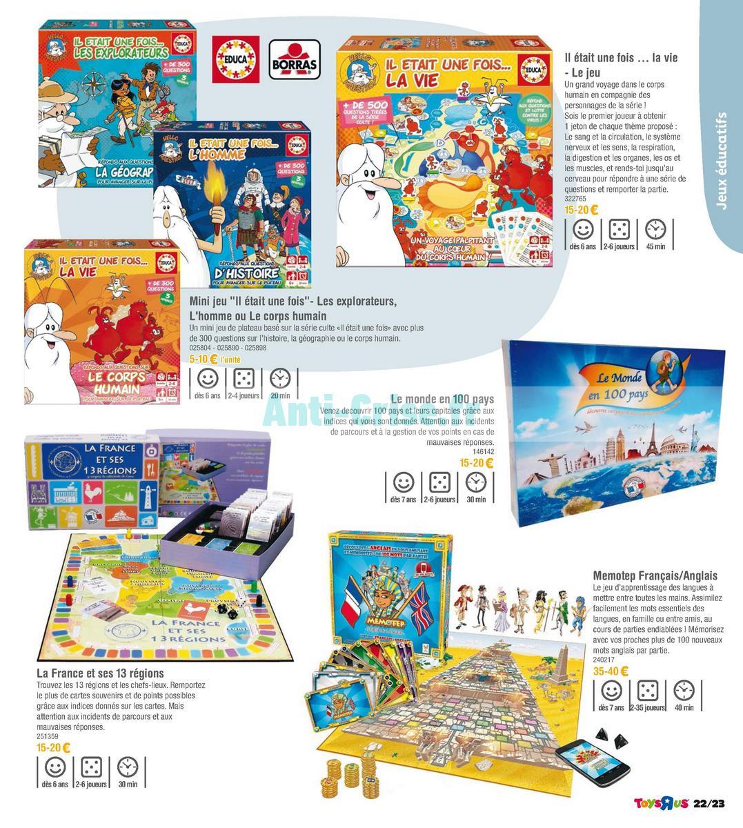 septembre2018 Catalogue Toys R Us du 7 avril au 23 septembre 2018 (Jeux de Société) (23)