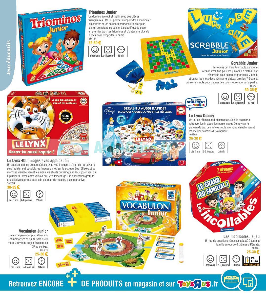 septembre2018 Catalogue Toys R Us du 7 avril au 23 septembre 2018 (Jeux de Société) (24)