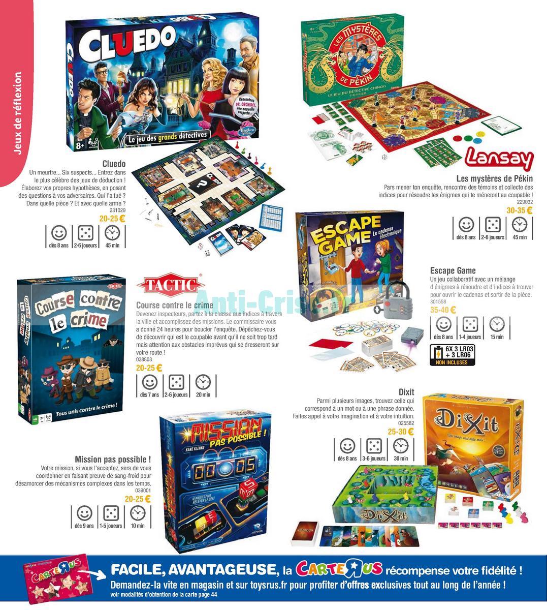 septembre2018 Catalogue Toys R Us du 7 avril au 23 septembre 2018 (Jeux de Société) (32)