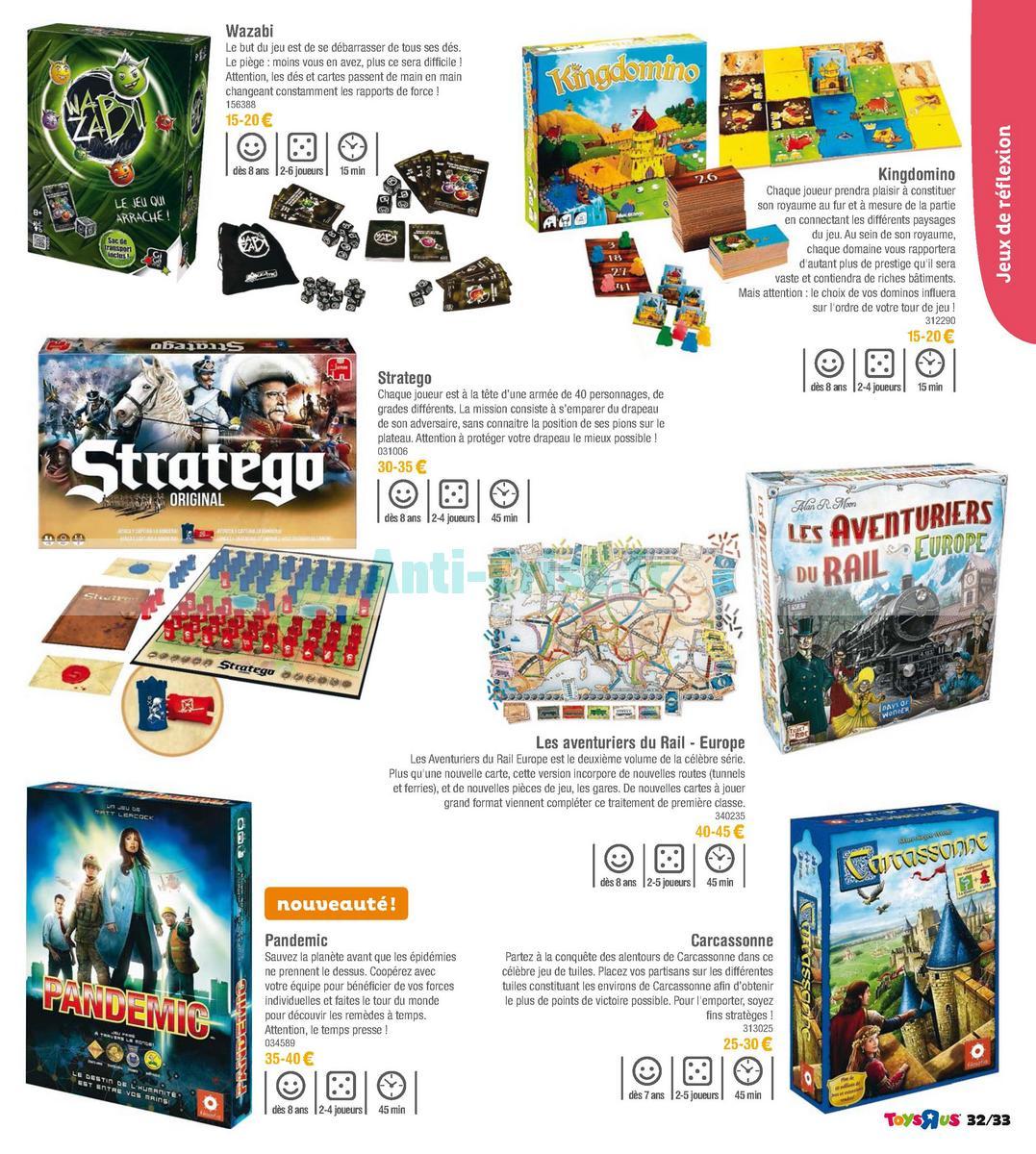 septembre2018 Catalogue Toys R Us du 7 avril au 23 septembre 2018 (Jeux de Société) (33)