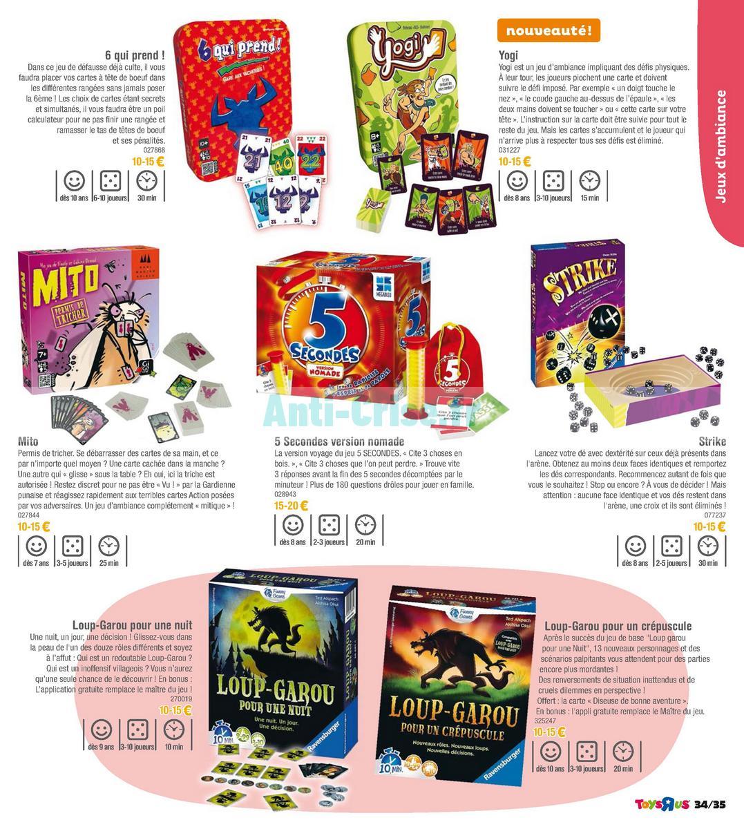 septembre2018 Catalogue Toys R Us du 7 avril au 23 septembre 2018 (Jeux de Société) (35)