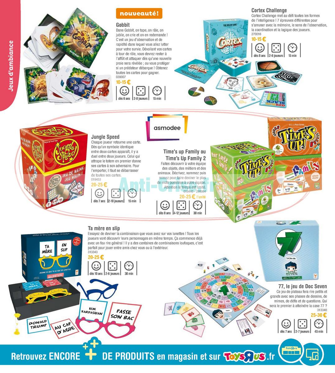 septembre2018 Catalogue Toys R Us du 7 avril au 23 septembre 2018 (Jeux de Société) (36)