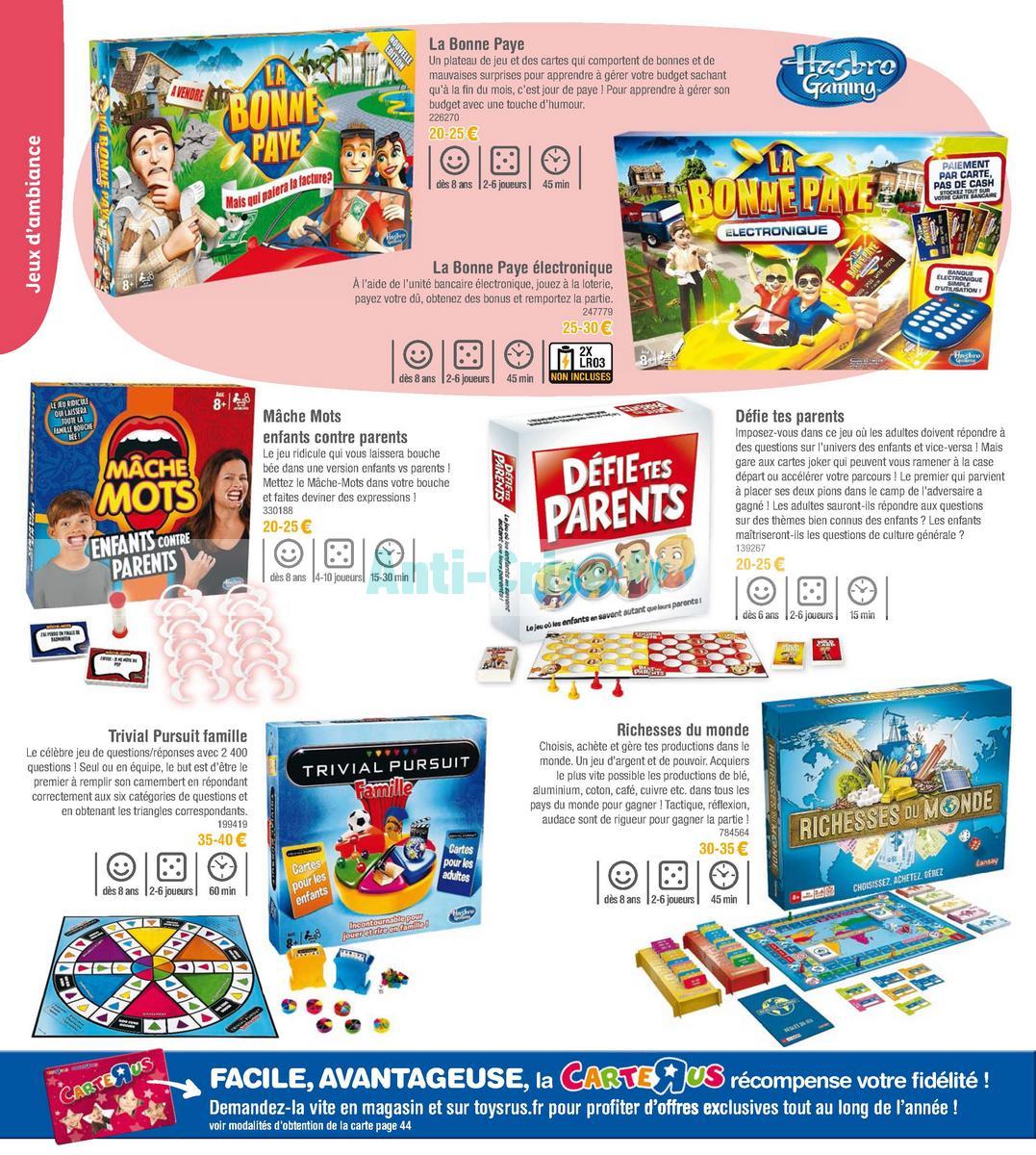 septembre2018 Catalogue Toys R Us du 7 avril au 23 septembre 2018 (Jeux de Société) (38)