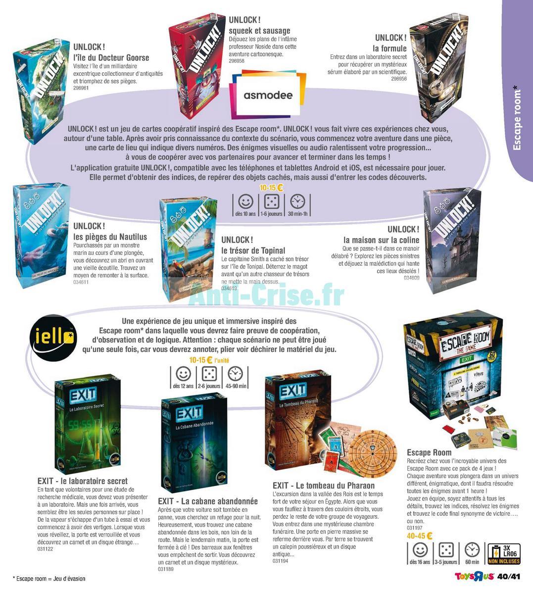 septembre2018 Catalogue Toys R Us du 7 avril au 23 septembre 2018 (Jeux de Société) (41)