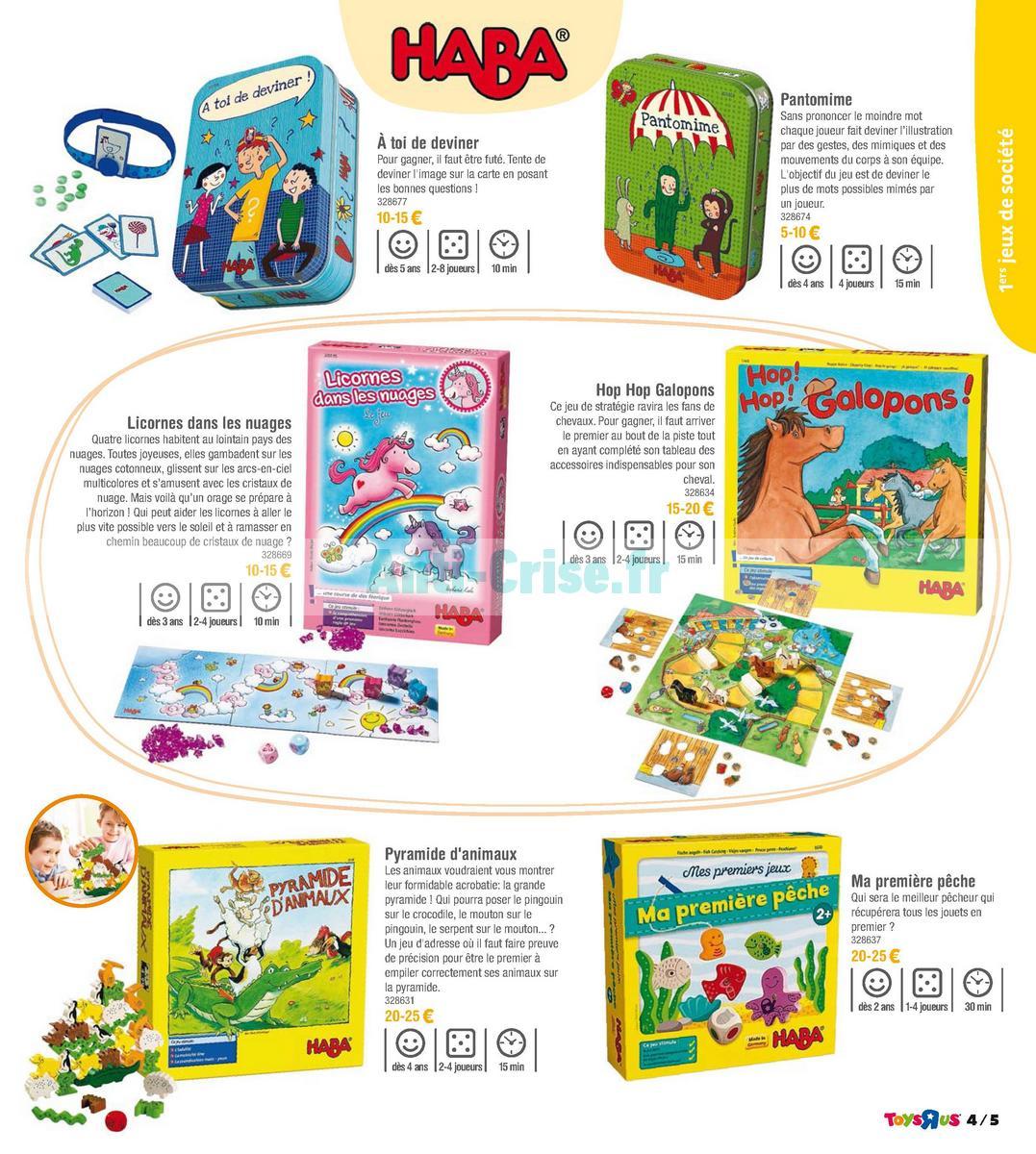 septembre2018 Catalogue Toys R Us du 7 avril au 23 septembre 2018 (Jeux de Société) (5)