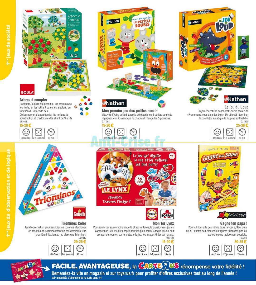 septembre2018 Catalogue Toys R Us du 7 avril au 23 septembre 2018 (Jeux de Société) (6)