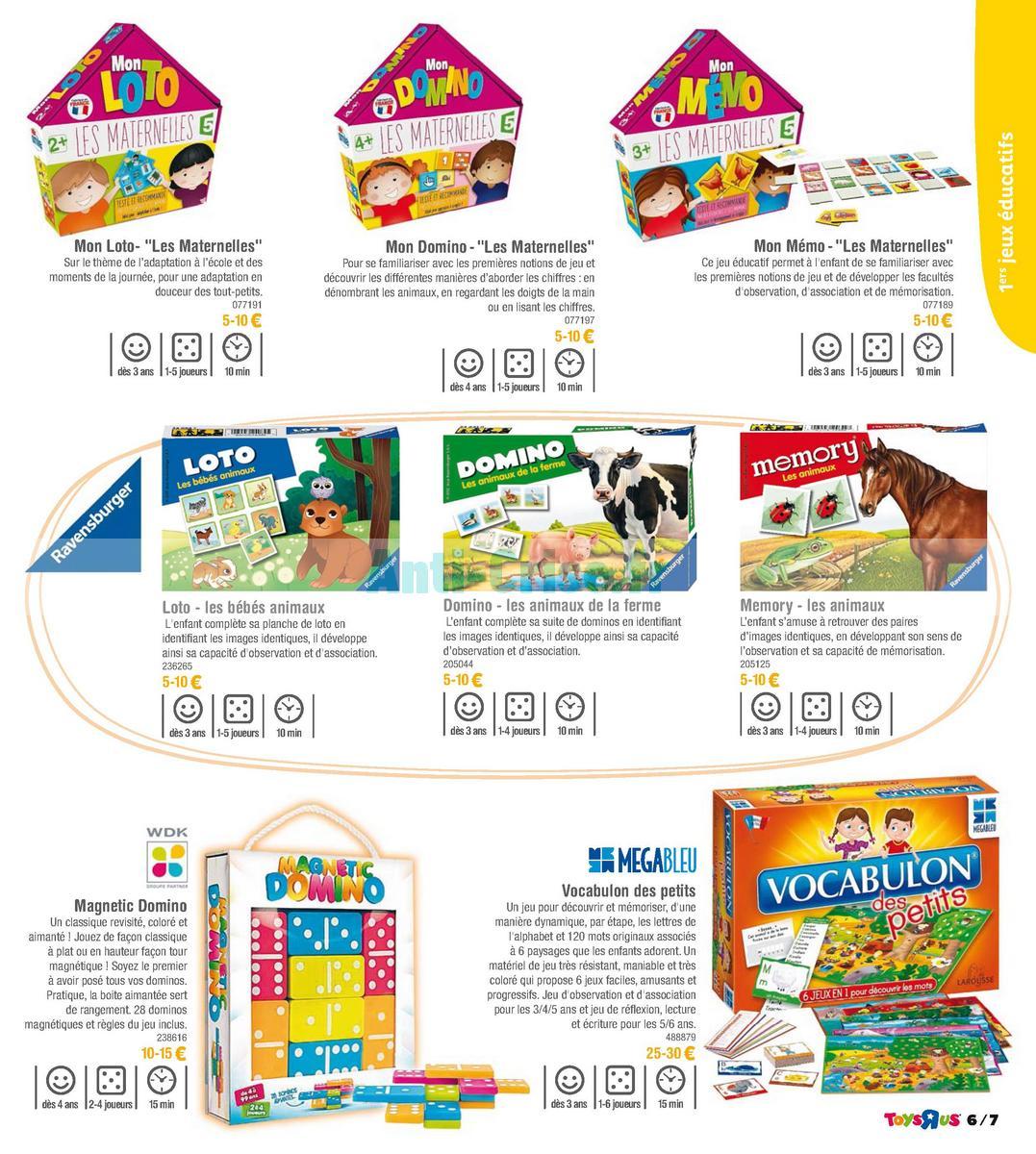 septembre2018 Catalogue Toys R Us du 7 avril au 23 septembre 2018 (Jeux de Société) (7)
