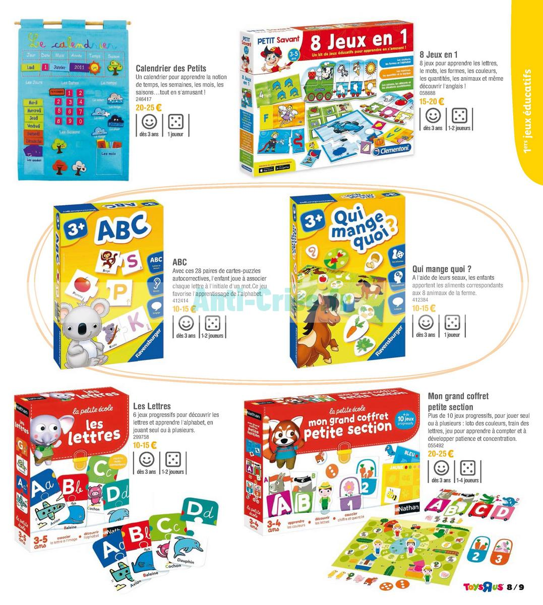 septembre2018 Catalogue Toys R Us du 7 avril au 23 septembre 2018 (Jeux de Société) (9)