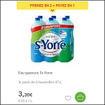 Bon Plan Eau Gazeuse St Yorre chez Carrefour DRIVE (22/05 - 28/05) - anti-crise.fr