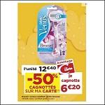 Bon Plan Rasoir Vénus de Gillette chez Casino (08/05 - 21/05) - anti-crise.fr