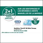 Bon Plan Dentifrice Oral-B White chez Monoprix (04/04 - 15/04) - anti-crise.fr