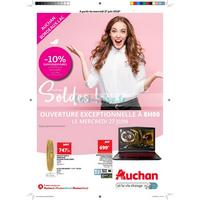 Catalogue Auchan du 27 juin au 7 août 2018 (Bordeaux Lac)