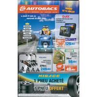 Catalogue Autobacs du 21 juin au 29 août 2018
