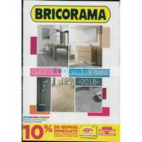 Catalogue Bricorama du 30 mai au 19 août 2018