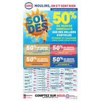 Catalogue Cora du 27 juin au 7 août 2018 (Moulins)
