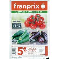 Catalogue Franprix du 25 au 27 juin 2018 (Frais)