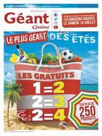 Géant Casino du 3 au 15 juillet