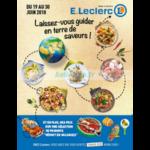 Catalogue Leclerc du 19 au 30 juin 2018 (Depts 40 47 64 65)