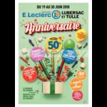Catalogue Leclerc du 19 au 30 juin 2018 (Lubersac Tulle)