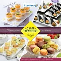 Catalogue Leclerc du 2 mai 2018 au 28 février 2019 (Traiteur Normandie)