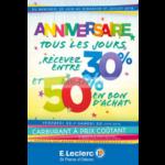 Catalogue Leclerc du 20 juin au 1er juillet 2018 (St Pierre d'Oléron)
