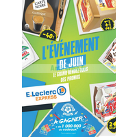 Catalogue Leclerc du 26 au 30 juin 2018 (Express)