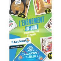 Catalogue Leclerc du 26 au 30 juin 2018 (Paris 19ème)