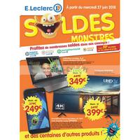 Catalogue Leclerc du 27 juin au 7 août 2018 (Sarrebourg)