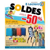 Catalogue Leclerc du 27 juin au 7 juillet 2018 (Centre-Ouest Soldes)
