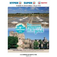 Catalogue Magasins U du 26 juin au 7 juillet 2018 (Loire-Atlantique)